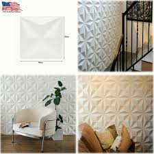 Details About 3D Wall Panel Ceiling Tiles Wallpaper PVC Background DIY For Home Decor US
