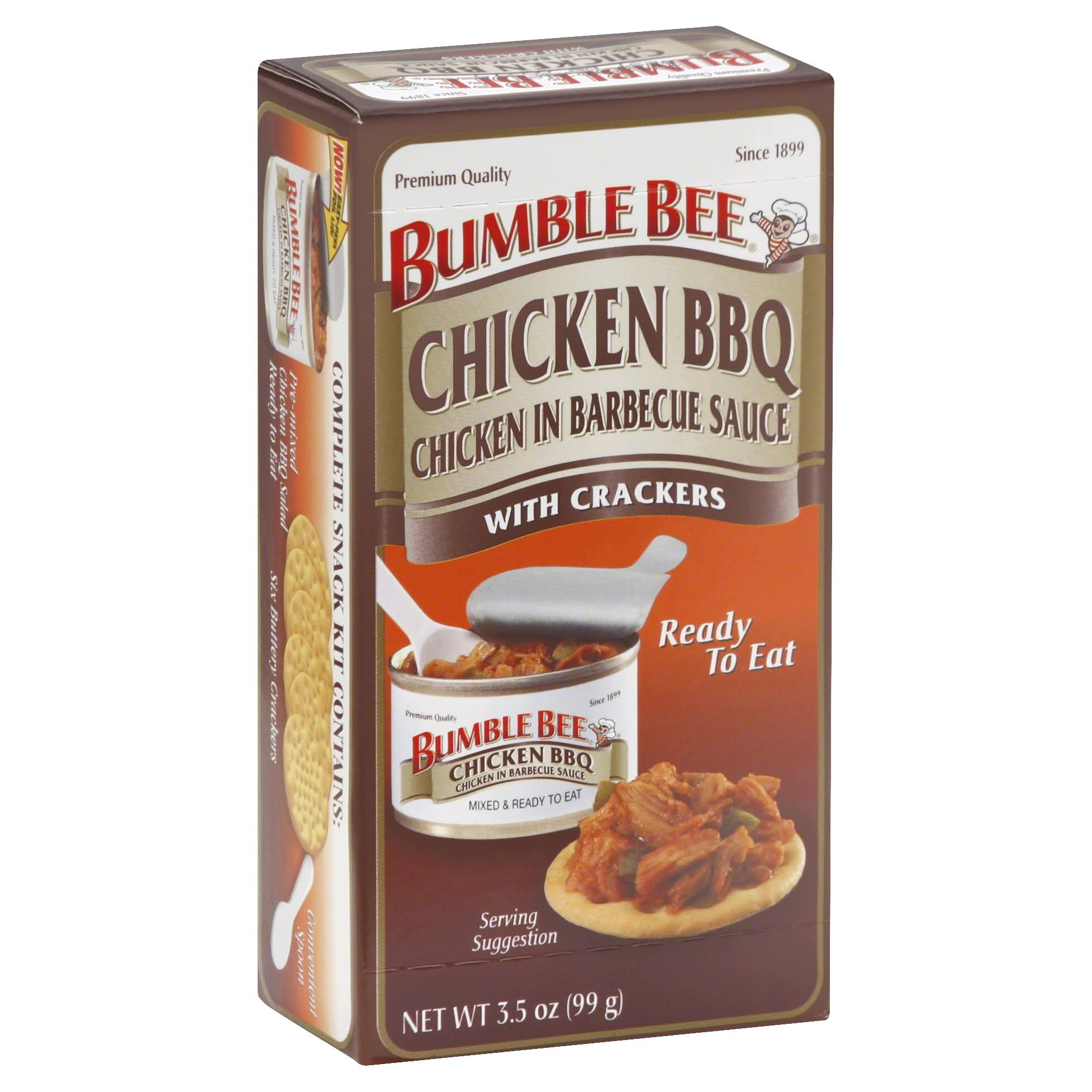 Bumble Bee Chicken BBQ, with Crackers - 3.5 oz
