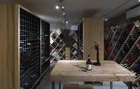 104 White House Wine Cellar Dbl Barro Track Light By Mondoluce Beams Design Architecture