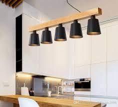 großhandel moderne pendelleuchten holz led küche leuchten led le esszimmer hängeleuchte deckenleuchten beleuchtung für table myy