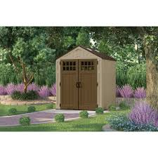 Lifetime Products Gable Storage Shed 7x7 by Vinyl Storage Sheds Walmart Com