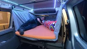 un lit basculant pour la voiture fourgon le site