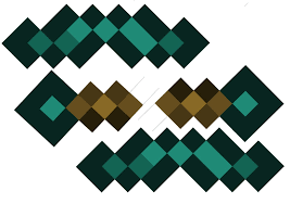 Diamond Sword Minecraft Handle