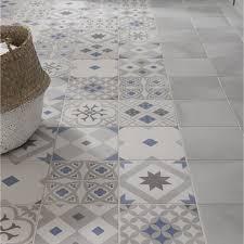 carrelage ceramique leroy merlin carrelage sol et mur gris effet ciment gatsby l 20 x l 20 cm