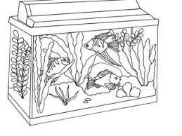 Fish Tank Coloring Page Awesome Netart