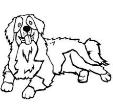 Threatening Dog Sitting Relaxed Coloring Pages For Kids Printable Dogs