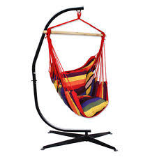 Hanging Chair Indoor Ebay by Oncloud Hanging Hammock Chair C Stand Only Heavy Duty Indoor