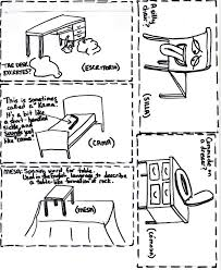 Learning Language Vocabulary Image For Furniture Muebles
