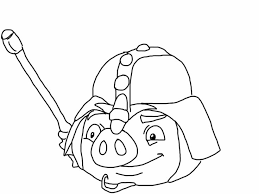 Colouring Pages Angry Birds Epic