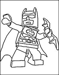 Lego Batman Printable Coloring Pages For Boys Color Zini