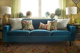 Sanela Curtains Dark Turquoise by Finally A Blue Velvet Sofa