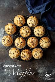 and easy chocolate chip muffins