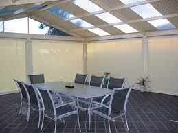 Vinyl Roll Up Patio Shades by Patio Blinds And Shades Tags Awesome Blinds For Pergolas