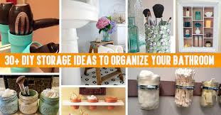 30 DIY Storage Ideas To Organize your Bathroom – Cute DIY Projects