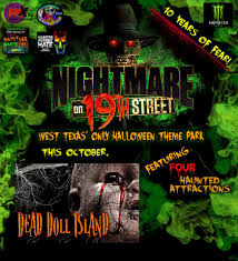 Halloween Theme Park by Nightmare On 19th Street In Lubbock Tx