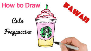 How To Draw Starbucks Drink Easy Step By
