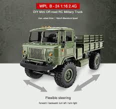 100 Mini Truck Accessories WPL B24 116 4WD 24G DIY Offroad RC Military Car