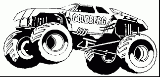 Outstanding Monster Trucks Coloring Pages Printable With Monster ...