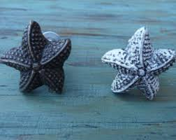 Glass Starfish Cabinet Knobs by Starfish Knobs Etsy