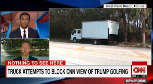 Trump Golf Outing Obscured By Mystery White Truck As CNN Tries To ... Chevrolet Nqr 75l Box Truck 2011 3d Model Vehicles On Hum3d White Delivery Picture A White Box Truck With Graffiti Its Side Usa Stock Photo Van Trucks For Sale N Trailer Magazine Semi At Warehouse Loading Bay Dock Blue Small Stock Illustration Illustration Of Tractor Just A Or Mobile Mechanic Shop Alvan Equip Man Tgl 2012 Vector Template By Yurischmidt Graphicriver