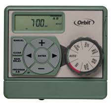 Orbit Hose Faucet Timer Manual by Orbit Sprinkler Timer 4 Zone Station Indoor Water Irrigation