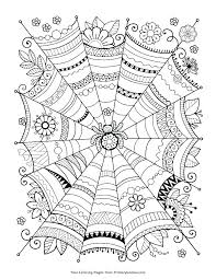 Free Printable Halloween Coloring Pages And Activities Number Color Preschool Numbers