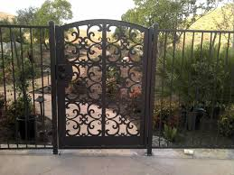 Decorative Garden Fence Panels Gates by Decorative Steel Fence Panels Home U0026 Gardens Geek