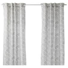 Yellow White And Gray Curtains by Curtains U0026 Blinds Ikea