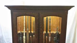 Stephenson Amish Gun Cabinet 112127