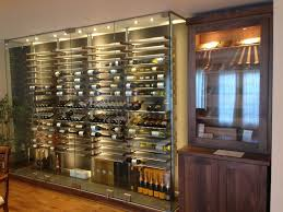Contemporary Dining Room With Wine Rack Images Gallery