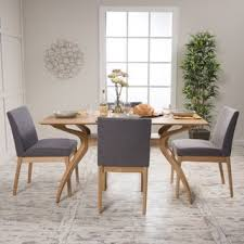 Kwame Mid Century 5 Piece Rectangle Dining Set By Christopher Knight Home