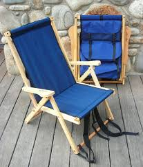 Tommy Bahama Backpack Cooler Chair by Wooden Backpack Chair By Blue Ridge Chair