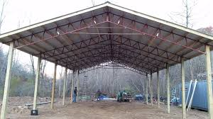 Build A Barn LLC Cha Pole Barn Update We Got Grid Power Led And Fluorescent Lights Armour Metals Steel Truss Kit Diy Youtube Gallery Of Bailey Barns Pictures Of Menards Project Center Residential Using Pole Barn Metal Truss System Garages Home Design Post Frame Building Kits For Great Sheds Need Metal 40x84x10 With Trusses 408410 Eight Nifty Tricks To Save Money When A Wick How To Install Lean Tos On A 20x40 Build Llc Reeds