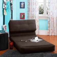 Kids Flip Open Sofa by Amazon Com Your Zone Flip Chair Convertible Sleeper Dorm Bed