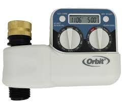 Orbit Hose Faucet Timer by Orbit Two Dial Battery Timer Dripworks Com