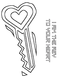 Download Heart Coloring Pages 3