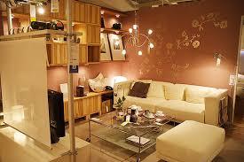 ikea livingroom ikea with beautiful lighting and white sofa for