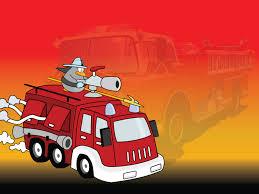 100 Truck Slides Fire Powerpoint Templates 3D Graphics Car