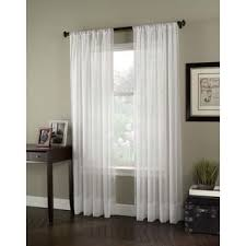 120 Inch Long Sheer Curtain Panels by Sheer Curtain Panel Pair Free Shipping On Orders Over 45