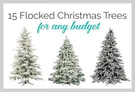 Christmas Tree Flocking Spray Can by Diy Flocked Christmas Tree Lovely Etc
