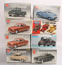 Buy AMT 1:25 Scale Plastic 1930-1950's Model Car/Truck Kits (11 ...
