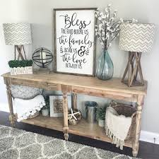 Awesome Rustic Living Room Decorating Ideas Bless The Food Before Us Wood Sign