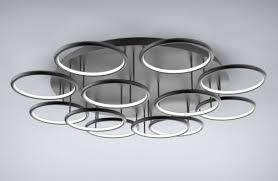 altavola design deckenleuchte led ring 12 schwarz in 3k