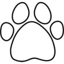 Paw Dog Bone Clipart