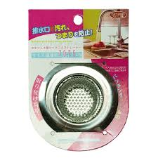 size wide rim sink strainer