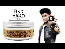 bed head matte separation workable wax review tigi versatile