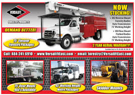 Forestry And Tree Care Bucket Trucks Available At Versalift East ...