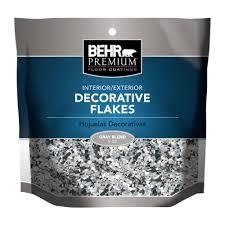 Behr Garage Floor Coating Vs Rustoleum by Behr Premium Tan Blend Decorative Color Flakes F5524 The Home Depot