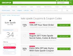 Think Kate Spade Is Too Fancy To Offer Promo Codes? Think Again.