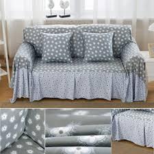 3 Seater Sofa Covers Online by Grey Linen Sofa Slipcover Centerfieldbar Com